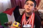 بالفيديو ... طفل تونسي ينتصر لاطفال فلسطين ويرفض ملاقاة لاعب اسرائيلي في بطولة دولية للشطرنج