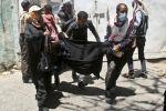 مقتل 13 مدنيا في حي بصنعاء جراء الغارات السعودية في اليمن