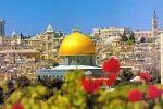 مهرجان تزين القدس بشهر رمضان والأعياد المسيحية والإسلامية والوطنية مقابل مهرجان الأنوار الإسرائيلي