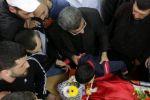 آلاف المواطنين يشيعون الشهيد سجدية في قلنديا