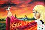 الفنان وائل ربيع والوطن بألوان خلف الجدران ...بقلم وعدسة: زياد جيوسي