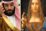 """وول ستريت جورنال تكشف: """"ابن سلمان"""" هو المشتري الحقيقي للوحة """"سلفادور مندي"""" بمبلغ 450 مليون دولار"""