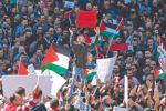 الالاف في نابلس يطالبون بإسقاط قانون الضمان ورحيل وزير العمل ابو شهلا