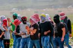 14 إصابة بمواجهات عنيفة مع الاحتلال على المدخل الشمالي للبيرة