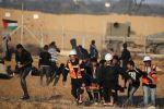 غزة: 7 إصابات بمسيرات العودة وكسر الحصار في الجمعة الـ 56