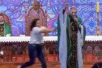 فيديو: راهب روسي يزعم أن السمينات لا يدخلن الجنّة.. فماذا حصل له؟