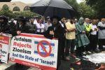 يهود ومسلمون يتظاهرون ضد إسرائيل في واشنطن