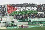 بالفيديو ... جماهير جزائرية تتضامن مع فلسطين بـ'تيفو العلم'