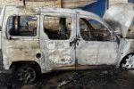 مستوطنون يحرقون مركبة جنوب نابلس