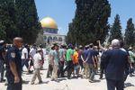 مستوطنون وعلى رأسهم وزير إسرائيلي يقتحمون الأقصى