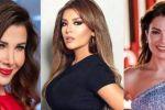 نانسي عجرم وأمل بوشوشة وصبا مبارك تشاركن في مواجهة فيروس كورونا