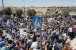 القدس: الاحتلال يُقرر إبعاد (21) مواطناً عن الأقصى لمدة (15) يوماً