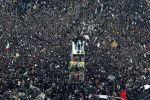 طهران تودع سليماني بأكبر جنازة منذ تشييع الخميني