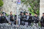 اجراءات مشددة بالقدس ومسؤولون عرب في جنازة بيريس