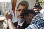 الحكم بإعدام مرسي بقضية السجون والمؤبد بتهمة التخابر