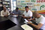 منتدى شارك الشبابي ووهدان للمقاولات يوقعان اتفاقية لإنشاء أول قرية للشباب في فلسطين
