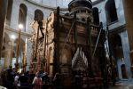 القدس: الكشف عن 'مرقد المسيح' بكنيسة القيامة