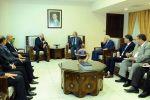 د. ابو هولي: اعادة اعمار مخيم اليرموك وملف المفقودين كانا على سلم اولويات الوفد  خلال لقائه بالمسؤولين السوريين