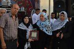 مخيم قلنديا: تكريم 330 من عائلات شهداء محافظة القدس في مهرجان 'خنساء القدس'