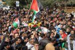 آلاف الموطنين يشيعون الشهيد السيريسي في جنين