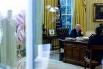 """ترامب بعد أن هاتف الملك سلمان: """"قتلة مارقون"""" يقفون وراء اختفاء خاشقجي.. وهذا ما أقسم عليه العاهل السعودي"""