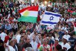صور| رفع أعلام إسرائيل في مظاهرات أكراد العراق