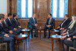 نائب أردني: دمشق وعمان قلب واحد ونبض واحد ولقاؤنا بالرئيس الأسد كان إيجابيا جدا