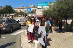وقفة احتجاجية في الناصرة تنديدا بمقتل اسراء غريب