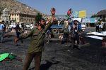 مصرع 3 وإصابة 13 فى انفجار القاعدة الأمريكية بأفغانستان