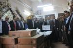 بنك القدس يدعم مدرسة الحسين بن علي الثانوية في الخليل