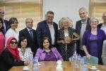 وفد اتحاد كليات الصحة العامة في أوروبا يزور جامعة القدس
