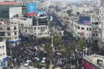 الشعب الفلسطيني يخرج رفضا لصفقة القرن