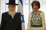 وزير الصحة الإسرائيلي يثير الجدل برفضه مصافحة نظيرته الفرنسية لأنها امرأة