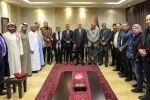 الحمد الله يستقبل الوفود العربية المشاركة في مؤتمر نصرة القدس
