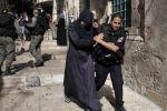 اصابة سيدة برصاص الاحتلال في القدس القديمة