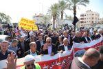 عودة من قلنسوة : رسالة المظاهرة ان هدم البيوت لن يكون نزهة بل سنتصدى بأجسادنا