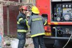 إصابة 12 شخصا من جراء حريق شب في عمارة سكنية في معاليه أدوميم