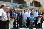 ضمن حملة توفيرك .. لحالك أحلالك.. بنك القدس يسلم الفائز مهداوي سيارة مرسيدس C-Class