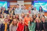 مجموعة الاتصالات الفلسطينية تستقبل وفدا من طلبة كلية بوسطن الامريكية