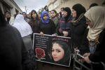 الآلاف يشاركون في جنازة ليان ناصر ضحية هجوم إسطنبول