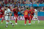 بلجيكا تجرد البرتغال من اللقب وتبلغ ربع النهائي