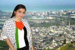 اللجنة السياسية الفلسطينية في اوروبا تقدم مساعدة للفنانة الطالبة ميرنا عيسى