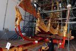 تعرف على عربة ملك تايلاند الذهبية التي ستنقله إلى الجنة