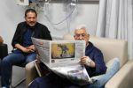 أطباء عباس ينفون تقديم علاج إسرائيلي له