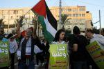 ضجة في اسرائيل: الاف العرب في تل ابيب يحملون علم فلسطين