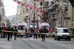 فيديو ..مقتل إسرئيلي وإصابة 10بينهم فلسطينيون وفقدان 12 في تفجير إسطنبول
