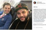فلسطيني يجلس بجانب ابن ترمب طوال 6 ساعات في الطائرة