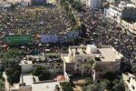 مئات الاف المواطنين يحتشدون في 'سرايا غزة' في ذكرى استشهاد الزعيم الخالد عرفات