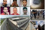 """من أول الحفر حتى """"القبض عليهم"""".. القصة الكاملة لهروب الفلسطينيين الستة من سجن جلبوع"""