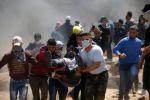 37 اصابة بمسيرات العودة شرق قطاع غزة